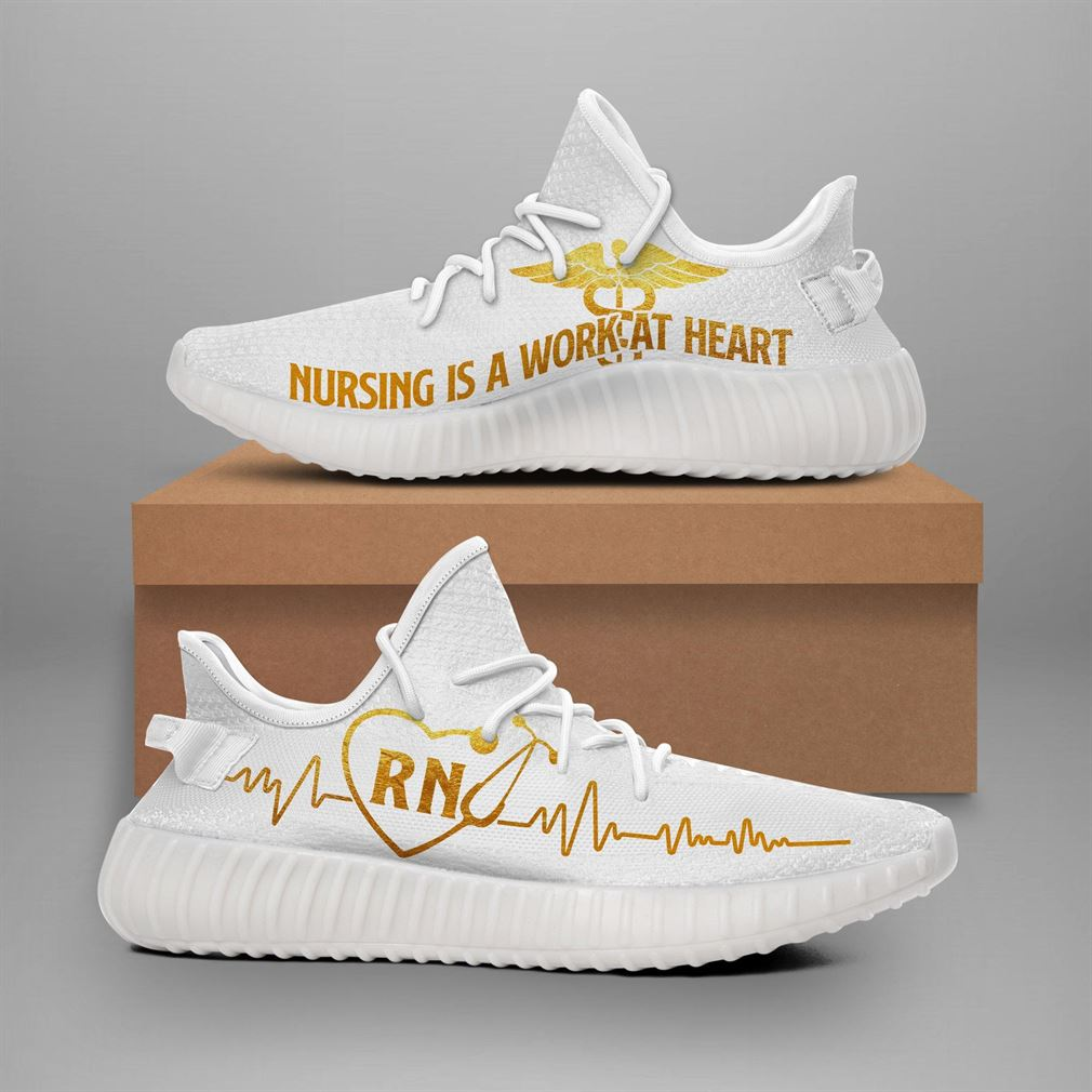 Registered Nurse 2 Runing Yeezy Sneakers Shoes