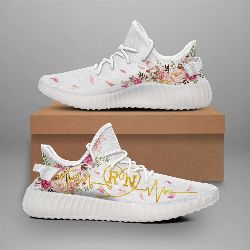 Registered Nurse Runing Yeezy Sneakers Shoes