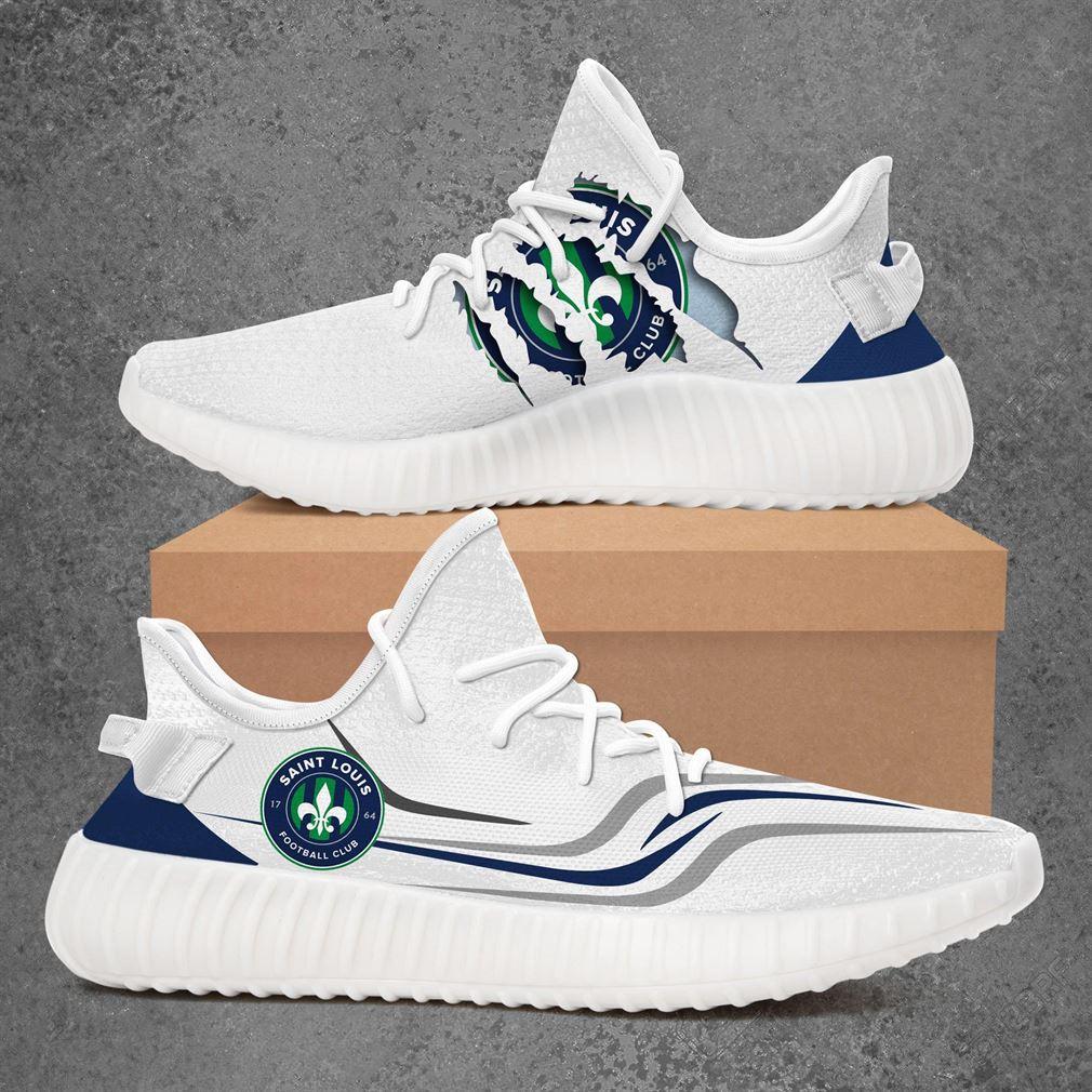 Saint Louis Fc Us Open Cup Sport Teams Yeezy Sneakers Shoes White
