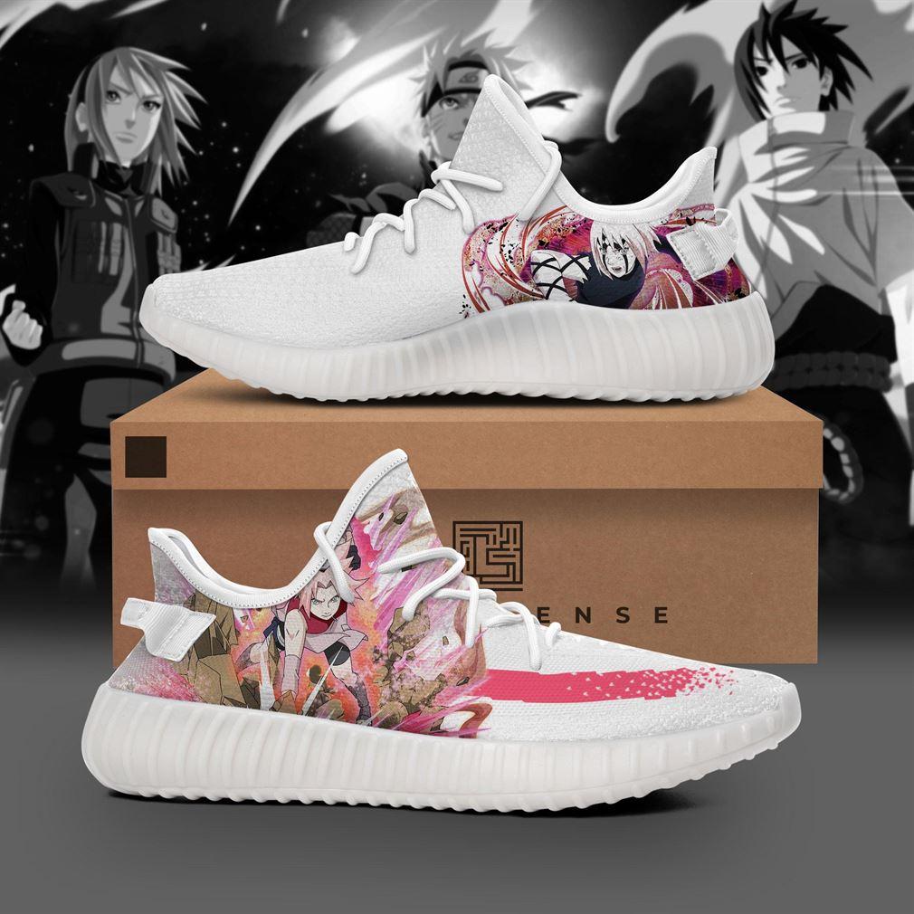 Sakura Character Naruto Yeezy Sneakers Shoes