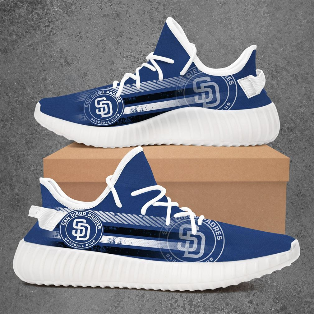 San Diego Padres Mlb Baseball Yeezy Sneakers Shoes