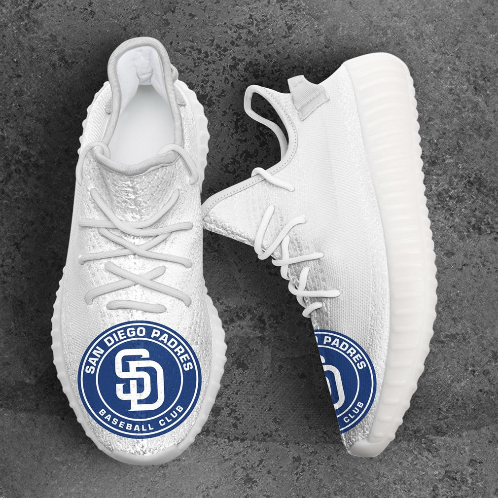 San Diego Padres Mlb Sport Teams Yeezy Sneakers Shoes