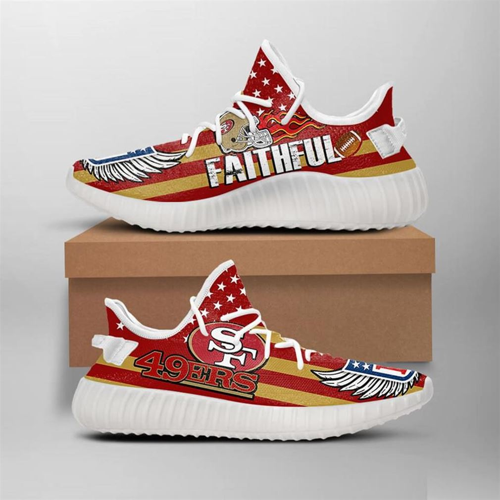 San Francisco 49ers Yeezy Sneakers Shoes