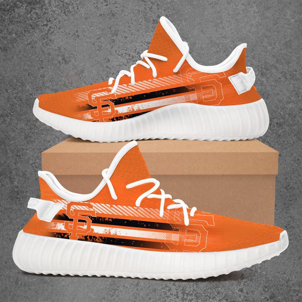 San Francisco Giants Mlb Baseball Yeezy Sneakers Shoes