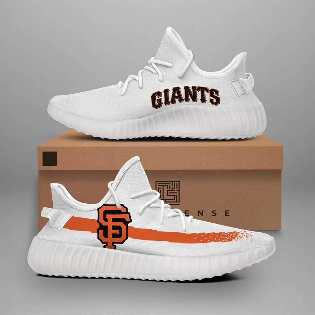 San Francisco Giants Mlb Teams Runing Yeezy Sneakers Shoes