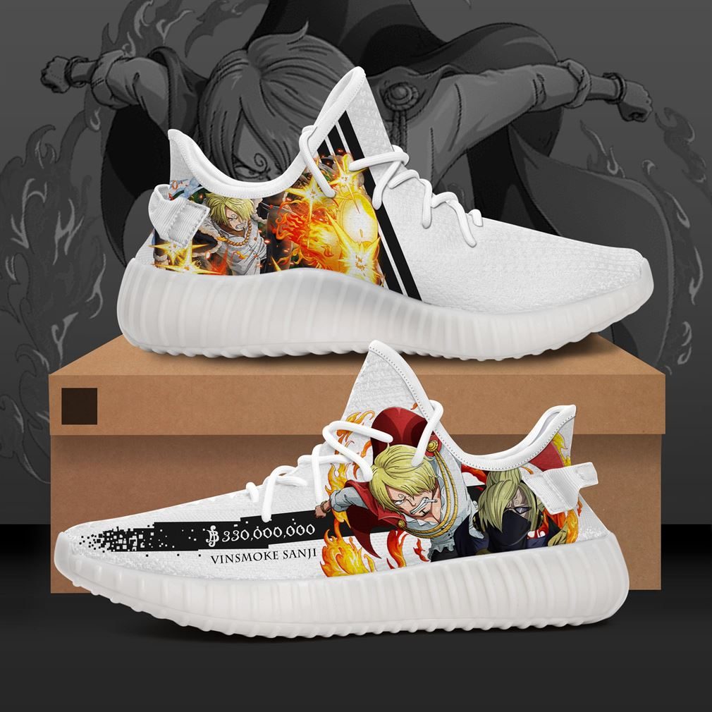Sanji Character One Piece Yeezy Sneakers Shoes