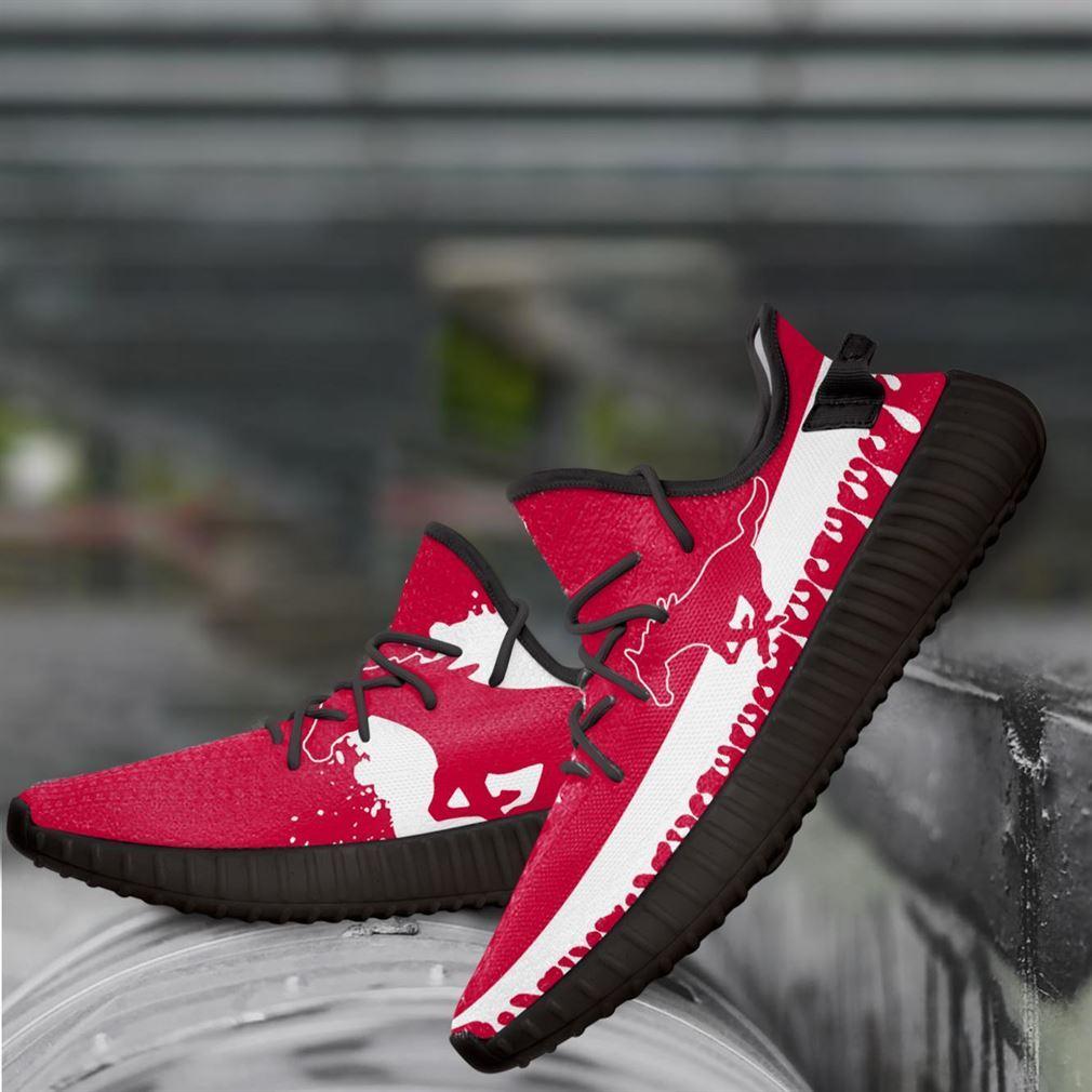 Smu Mustang Ncaa Yeezy Sneakers Shoes