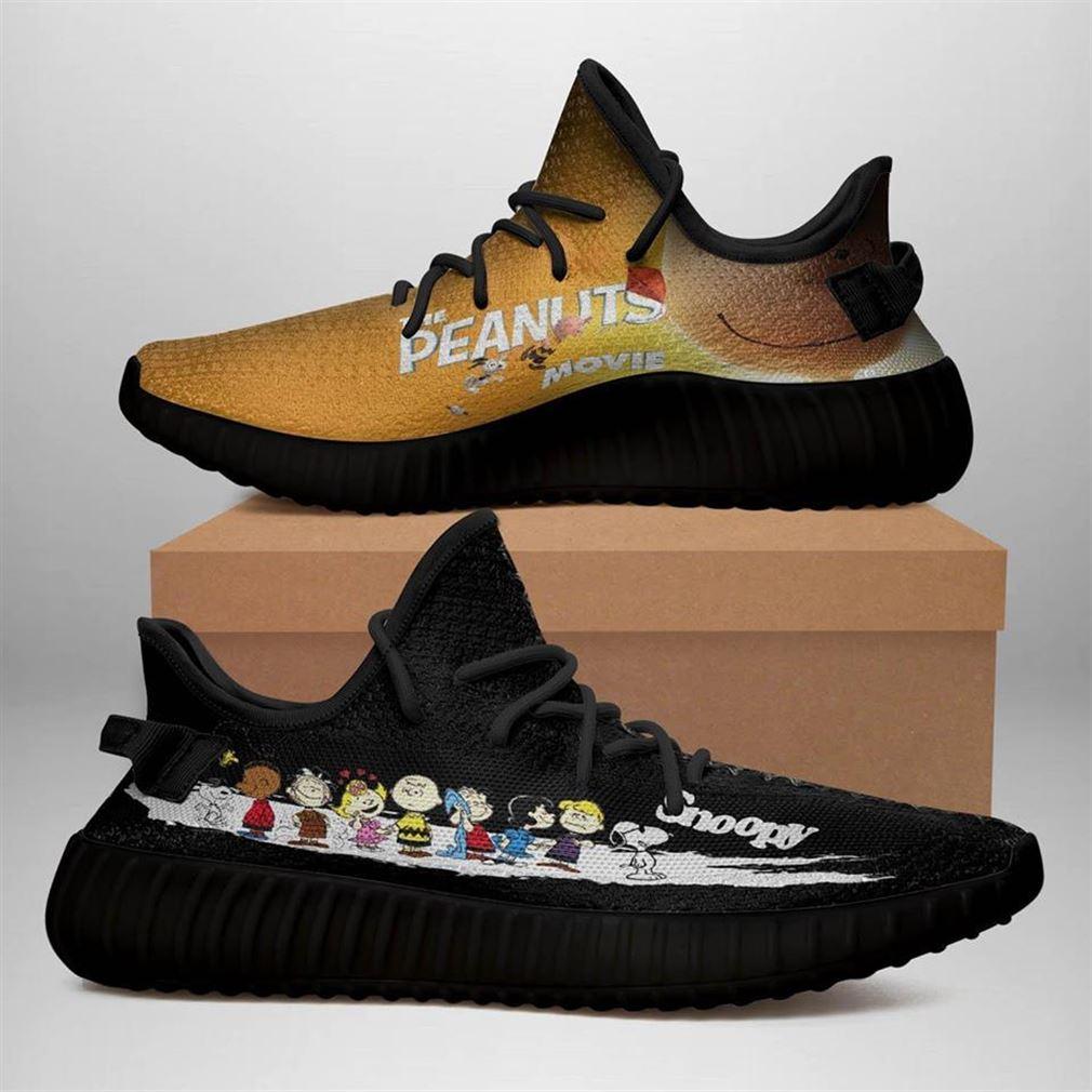 Snoopy Custom Yeezy Sneakers Shoes