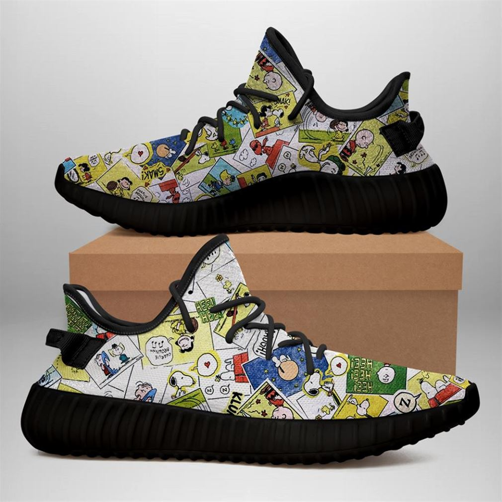 Snoopy Style Yeezy Sneakers Shoes