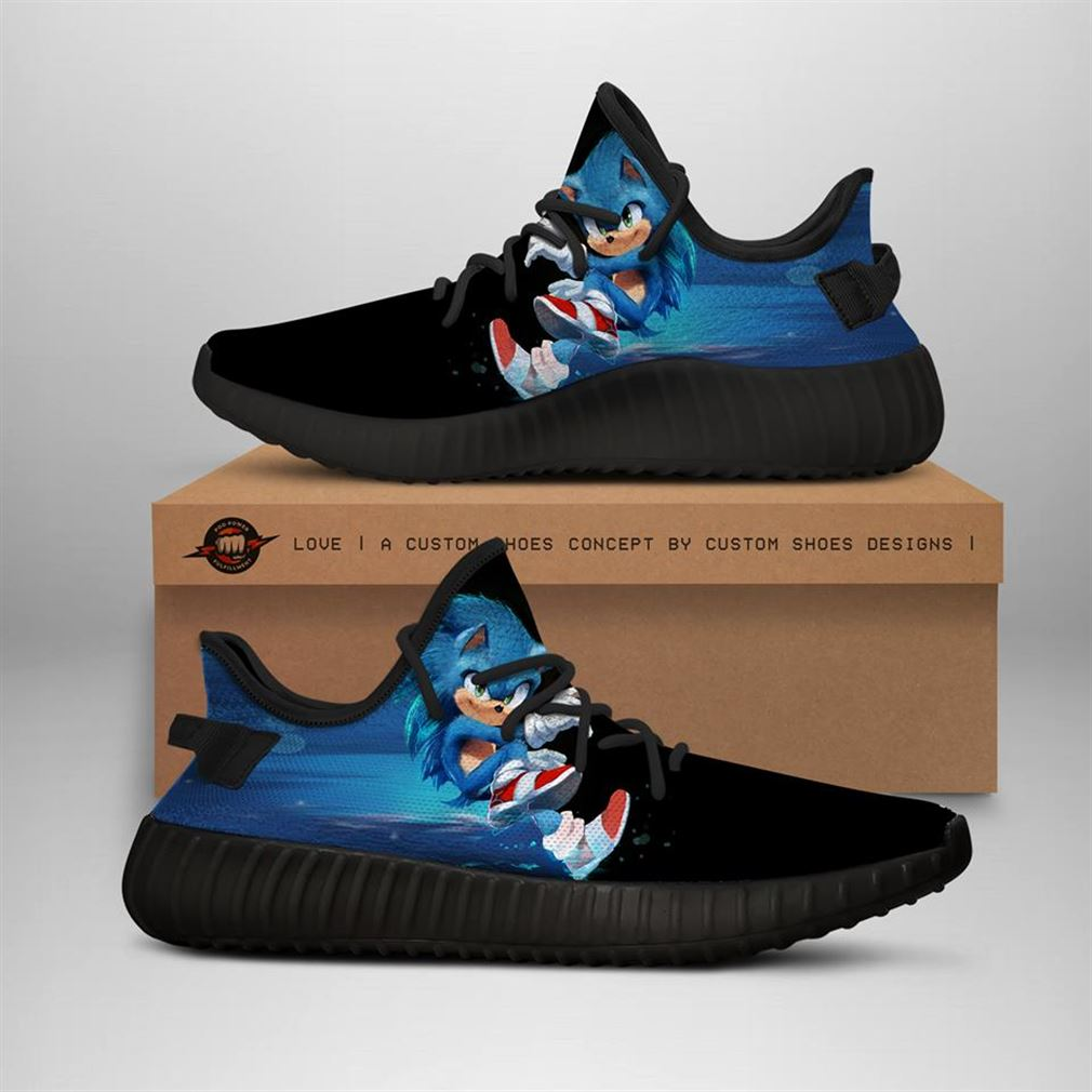 Sonic The Hedgehog Yeezy Sneakers Shoes