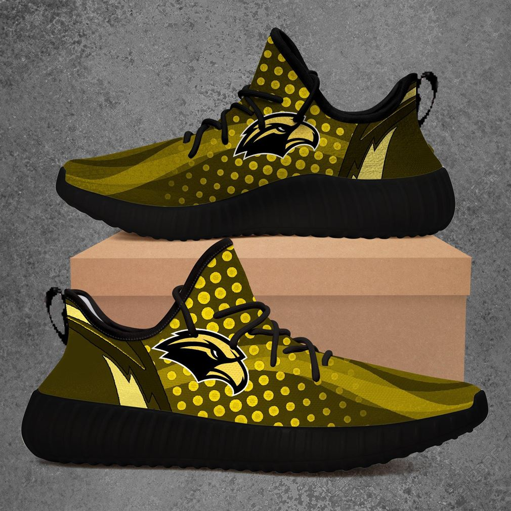 Southern Miss Golden Eagles Ncaa Sport Teams Yeezy Sneakers Shoes