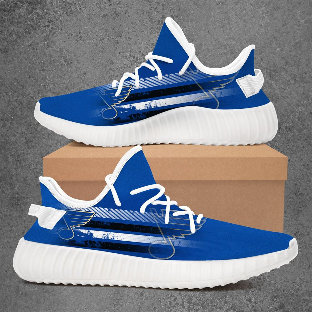 St Louis Blues Nfl Football Yeezy Sneakers Shoes