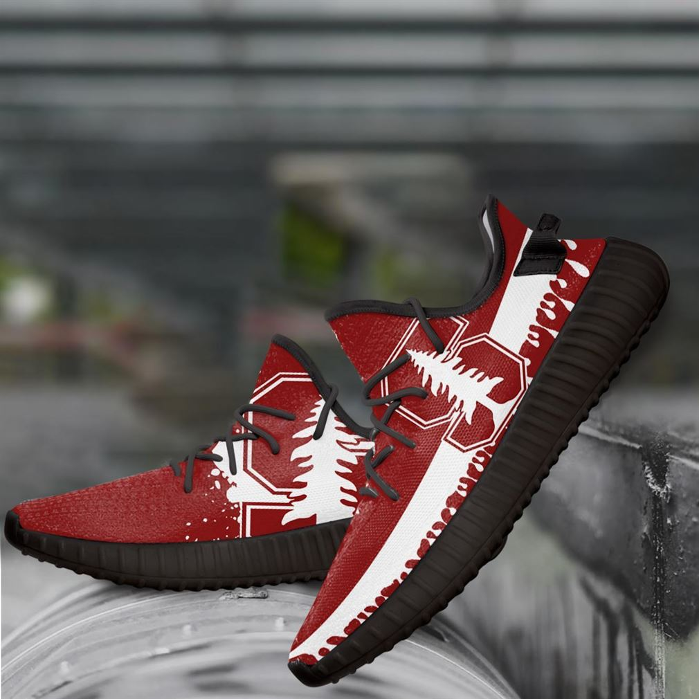 Stanford Cardinal Ncaa Yeezy Sneakers Shoes