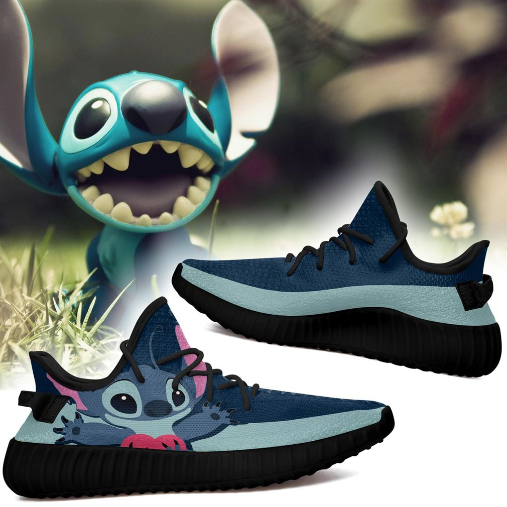 Stitch Cartoon Series Tv Movies Shows Yeezy Sneakers Shoes
