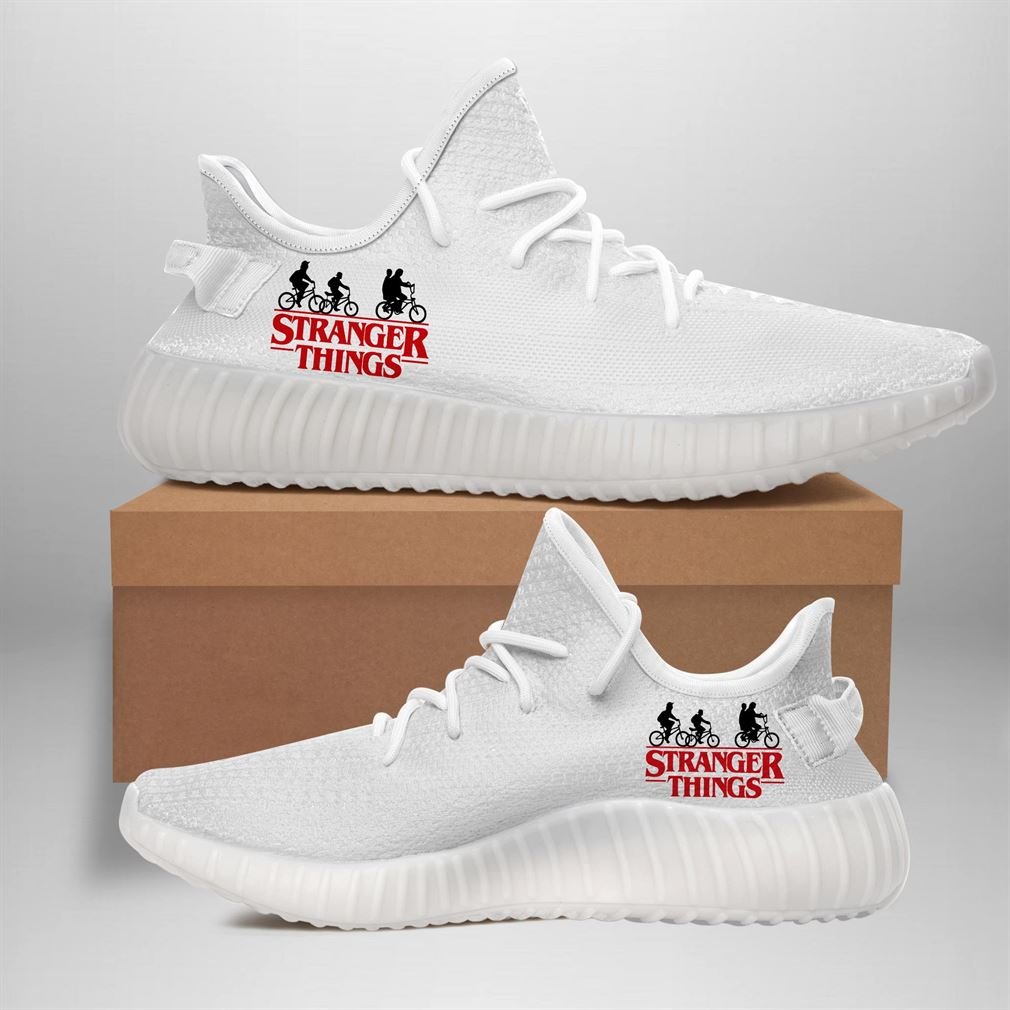 Stranger Things Yeezy Sneakers Shoes