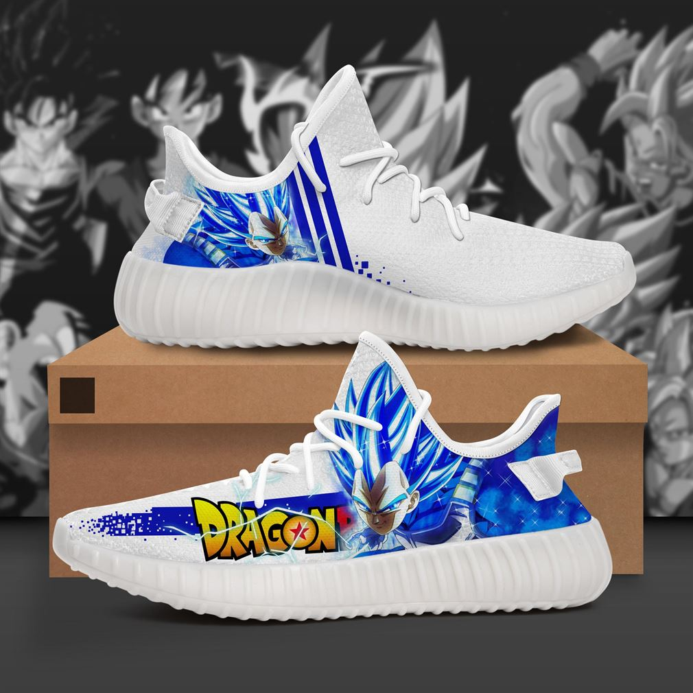 Super Vegeta Dragon Ball Yeezy Sneakers Shoes