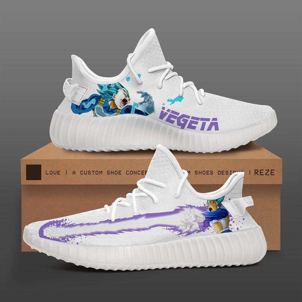 Super Vegeta Yeezy Sneakers Shoes