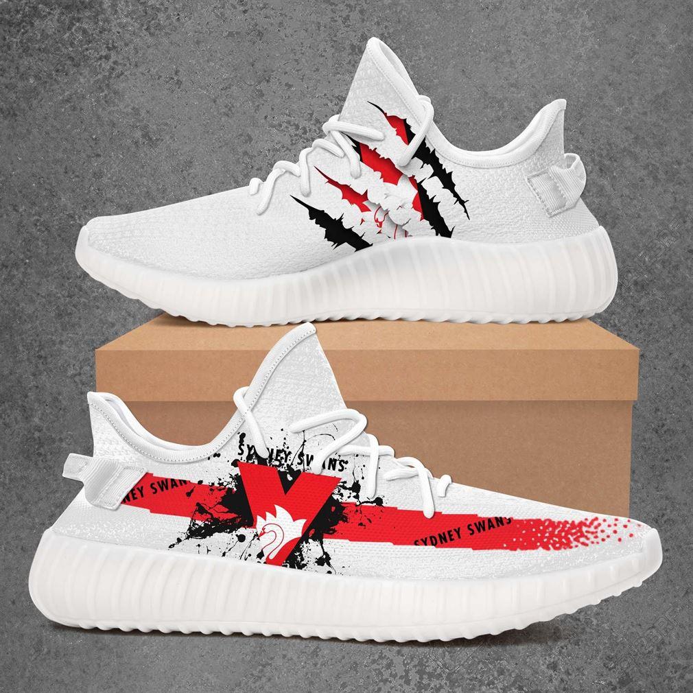 Sydney Swans Afl Sport Teams Yeezy Sneakers Shoes