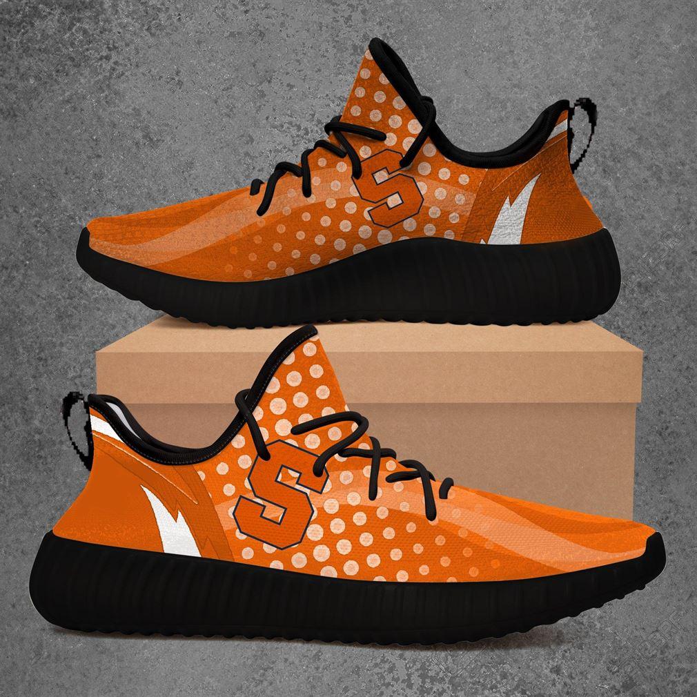 Syracuse Orange Ncaa Sport Teams Yeezy Sneakers Shoes