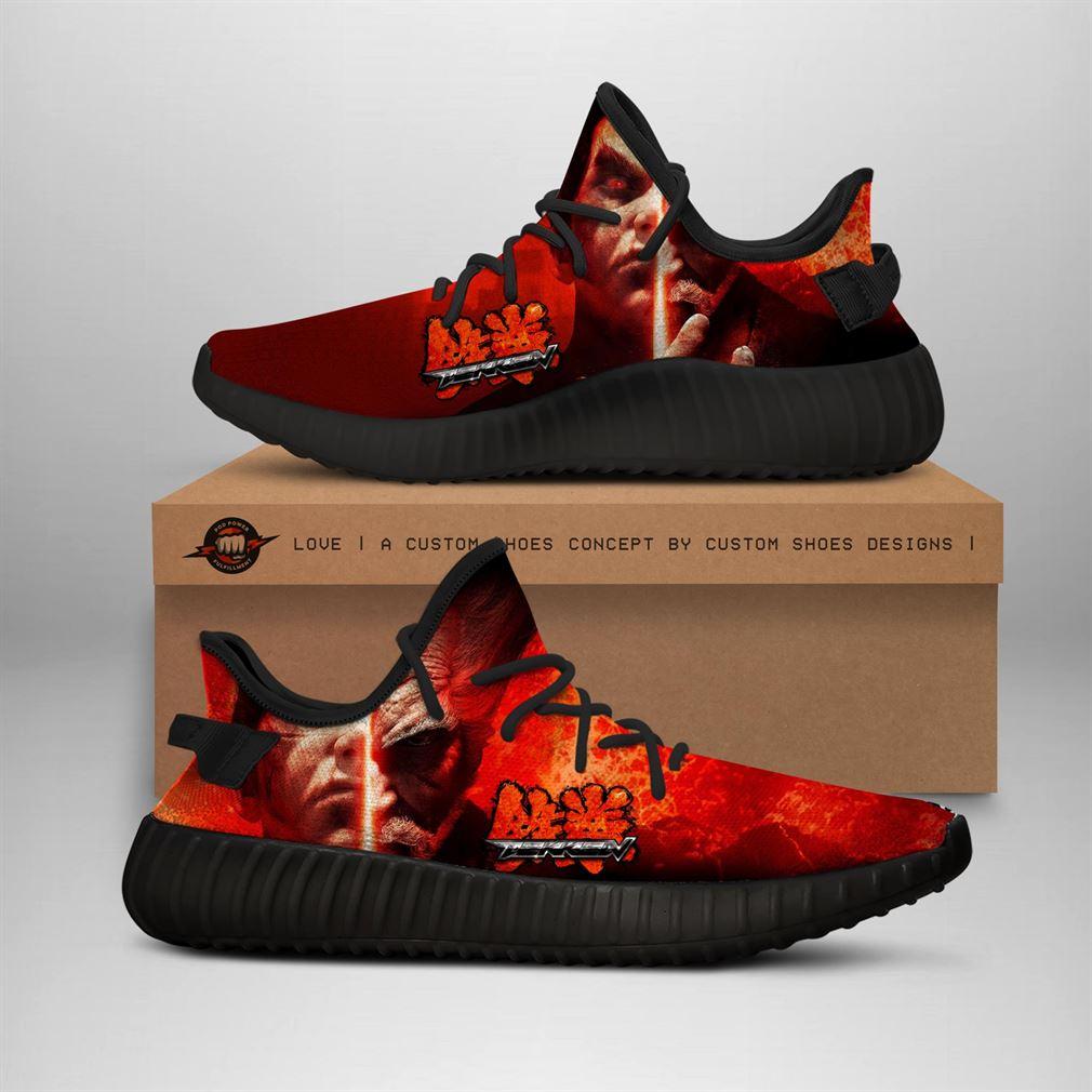 Takken Style Custom Yeezy Sneakers Shoes