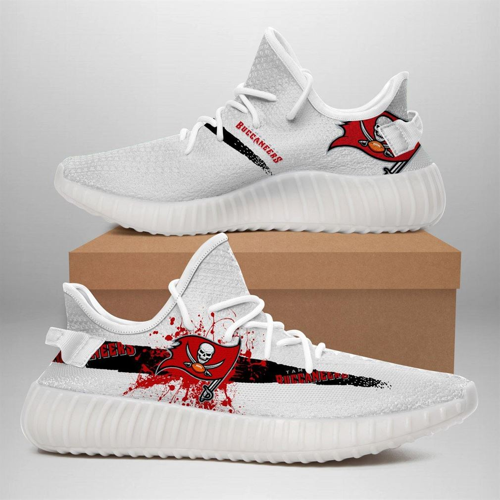 Tampa Bay Buccaneers Nfl Sport Teams Runing Yeezy Sneakers Shoes