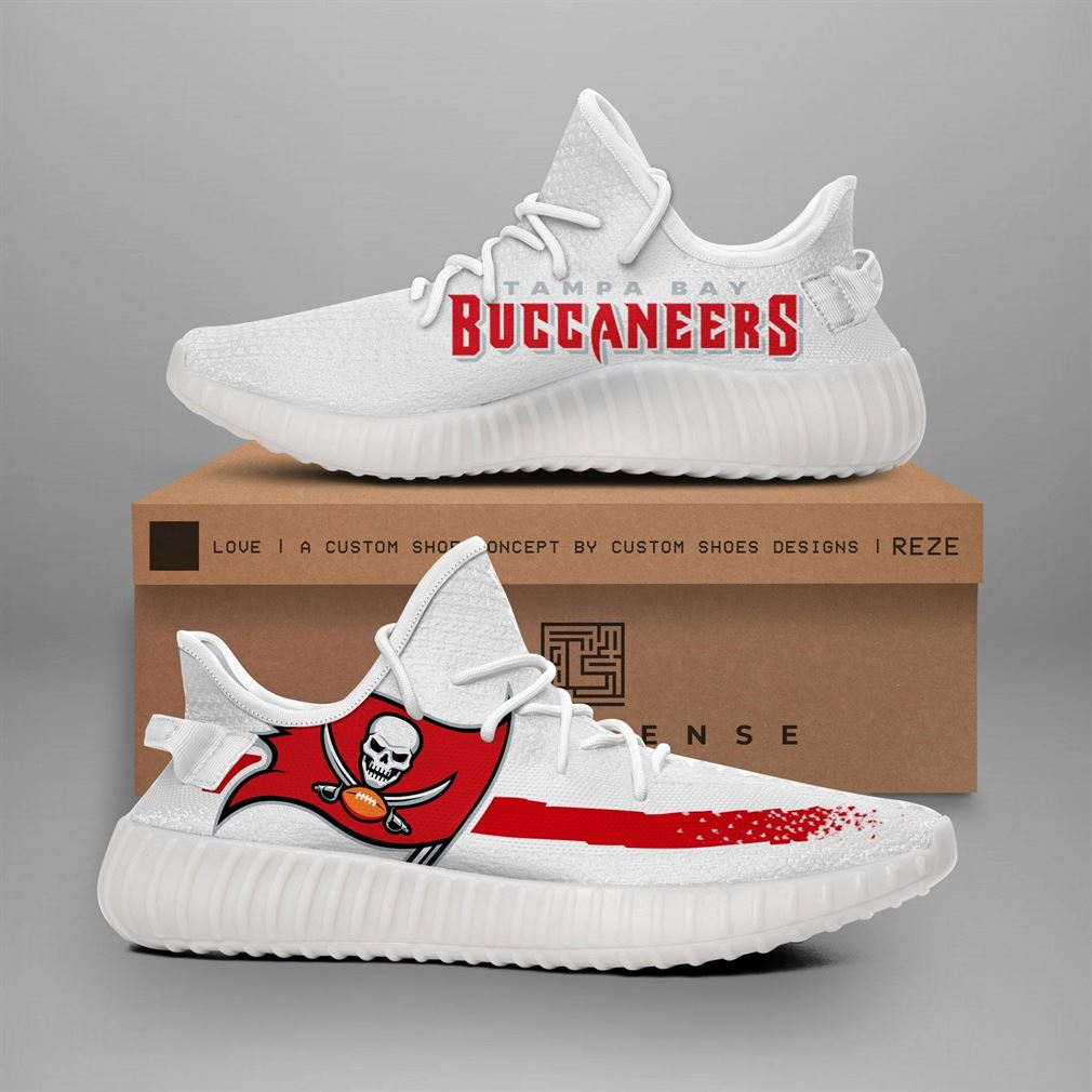 Tampa Bay Buccaneers Nfl Teams Runing Yeezy Sneakers Shoes