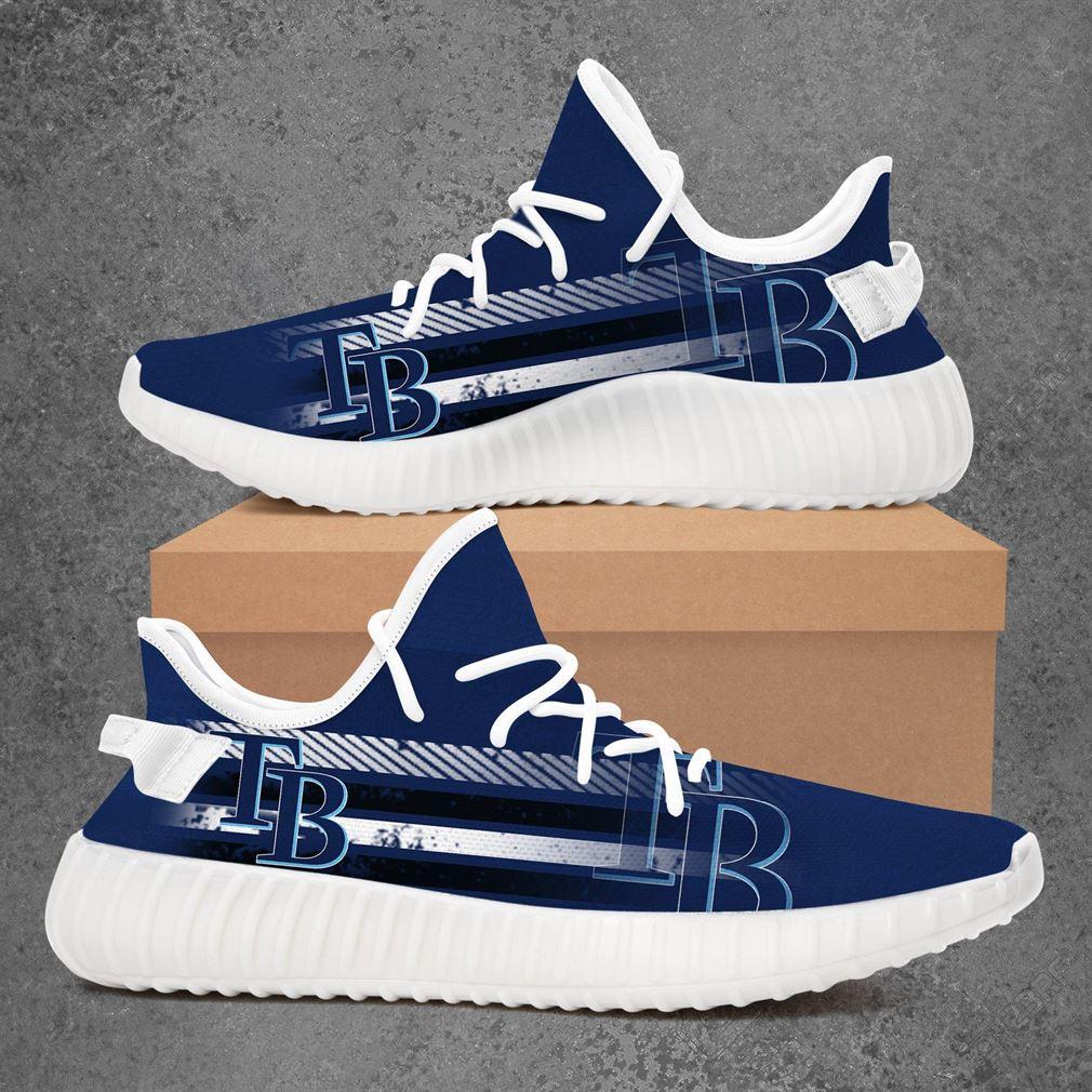 Tampa Bay Rays Mlb Baseball Yeezy Sneakers Shoes