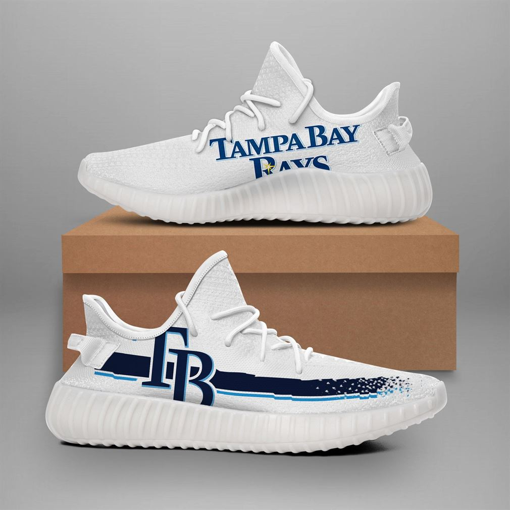 Tampa Bay Rays Mlb Teams Runing Yeezy Sneakers Shoes