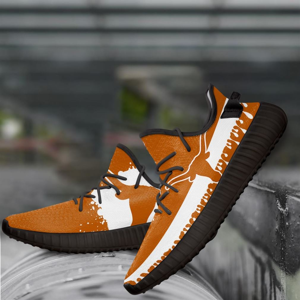 Texas Longhorns Ncaa Yeezy Sneakers Shoes