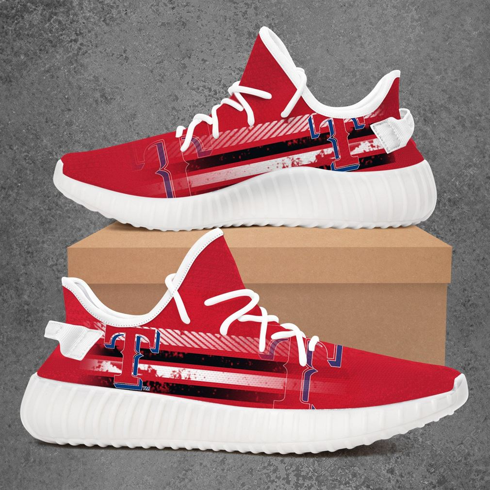 Texas Rangers Nba Basketball Yeezy Sneakers Shoes
