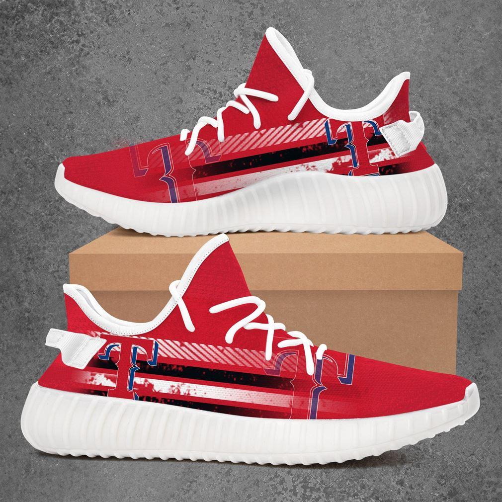 Texas Rangers Nfl Football Yeezy Sneakers Shoes