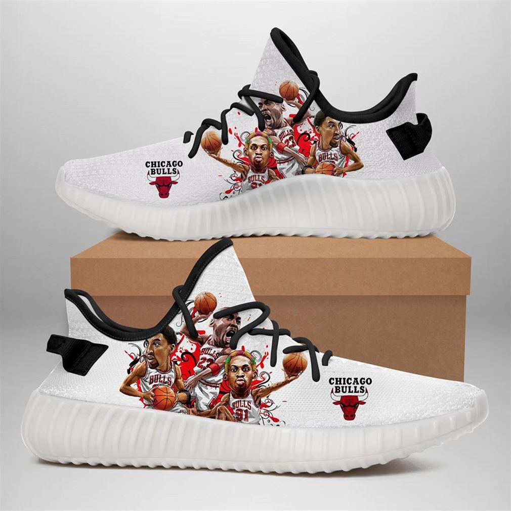 The Bulls Yeezy Sneakers Shoes