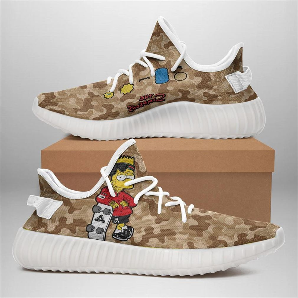 The Simpsons Yeezy Sneakers Shoes