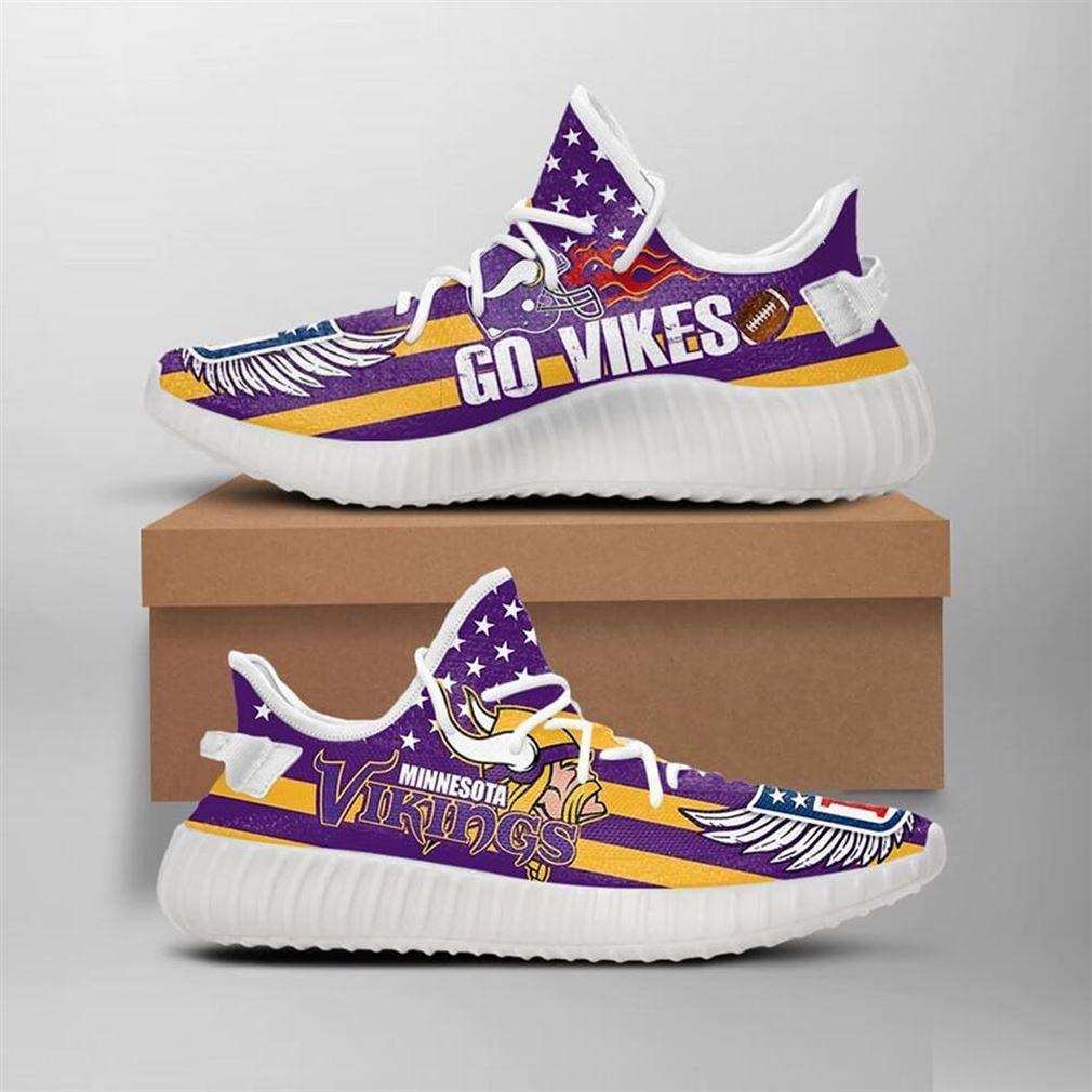 The Vikings Yeezy Sneakers Shoes