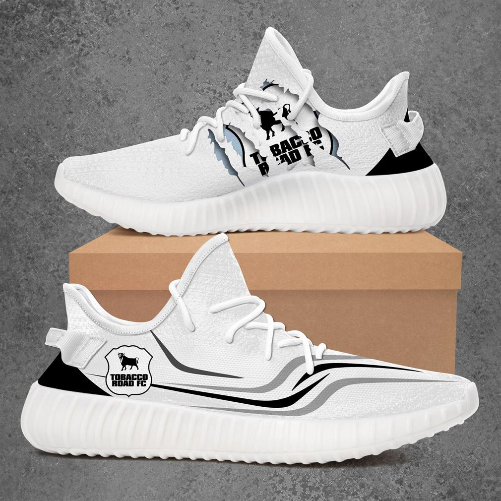 Tobacco Road Fc Usl League Two Sport Teams Yeezy Sneakers Shoes White