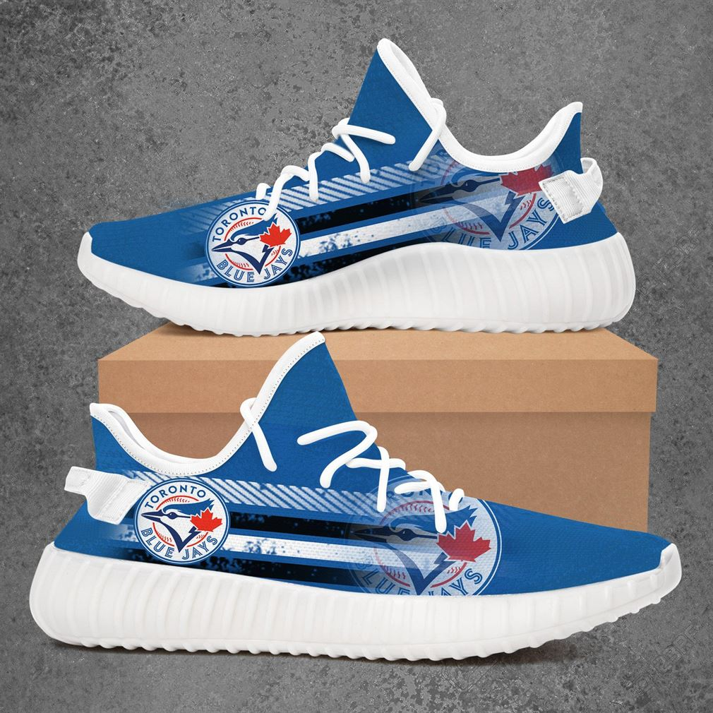 Toronto Blue Jays Mlb Baseball Yeezy Sneakers Shoes