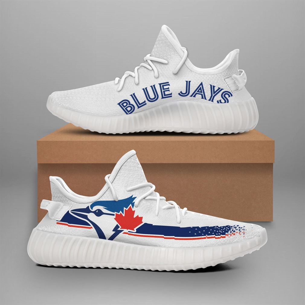 Toronto Blue Jays Mlb Teams Runing Yeezy Sneakers Shoes