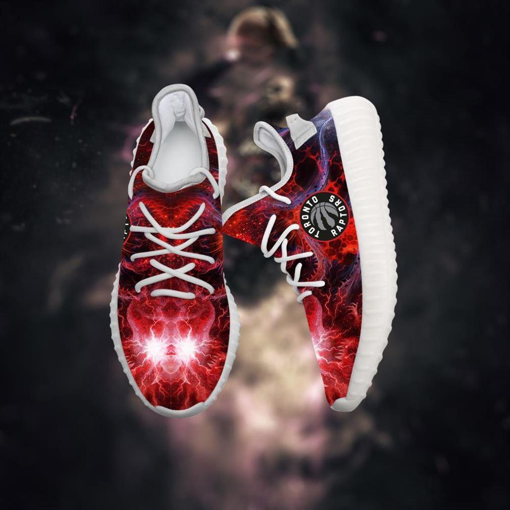 Toronto Raptors Yeezy Sneakers Shoes