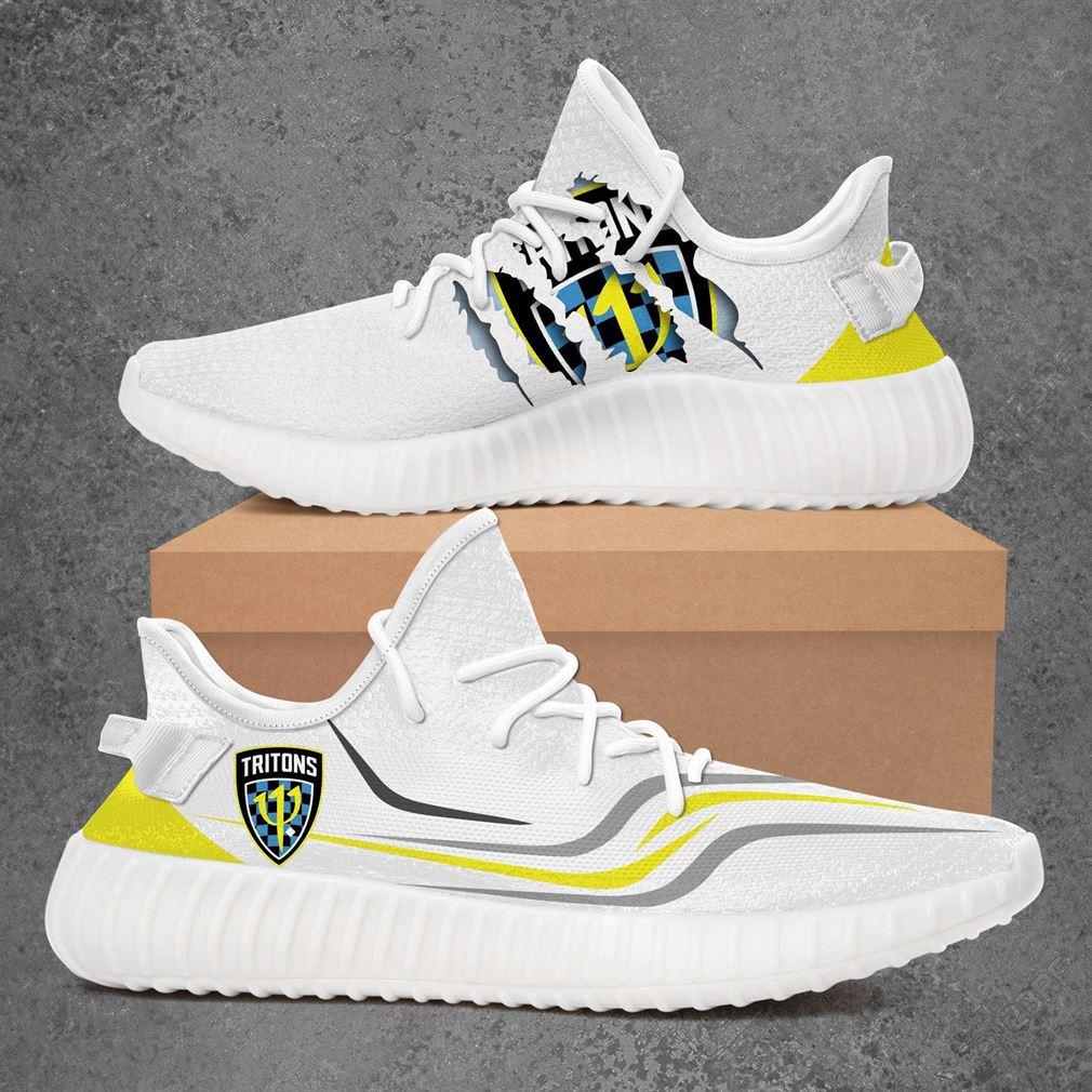 Treasure Coast Tritons Usl League Two Sport Teams Yeezy Sneakers Shoes White