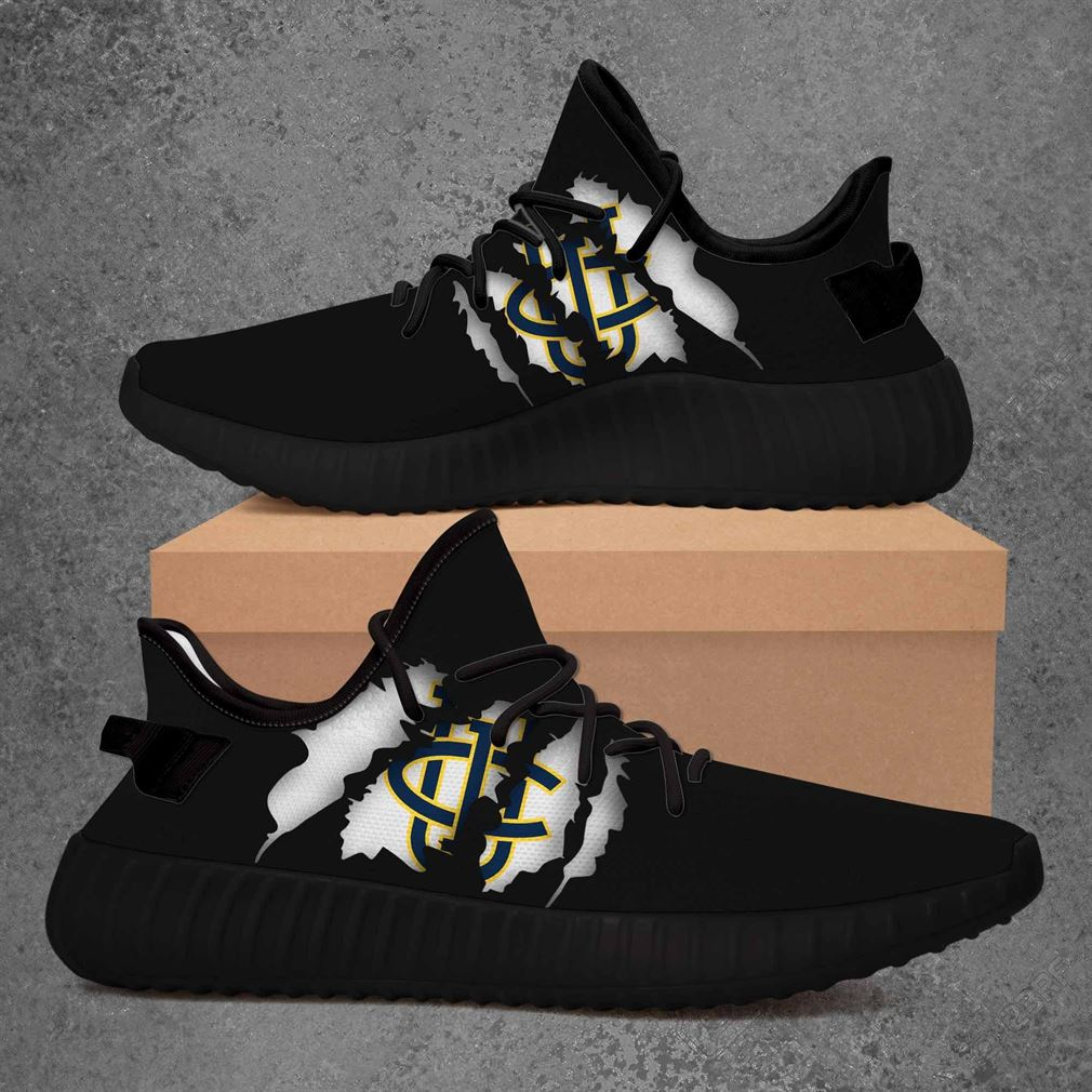 Uc Irvine Anteaters Ncaa Yeezy Sneakers Shoes Black