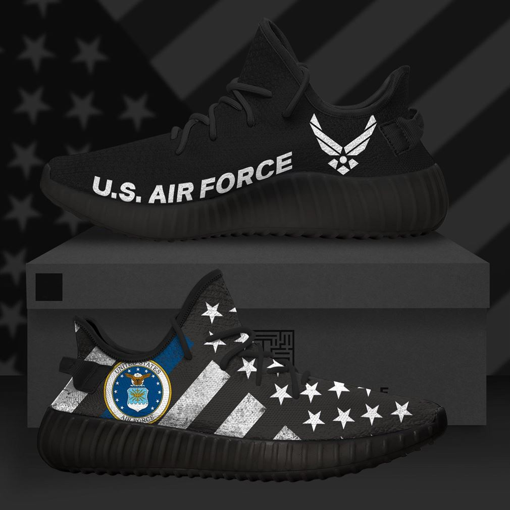 United States Air Force Us Army Runing Yeezy Sneakers Shoes