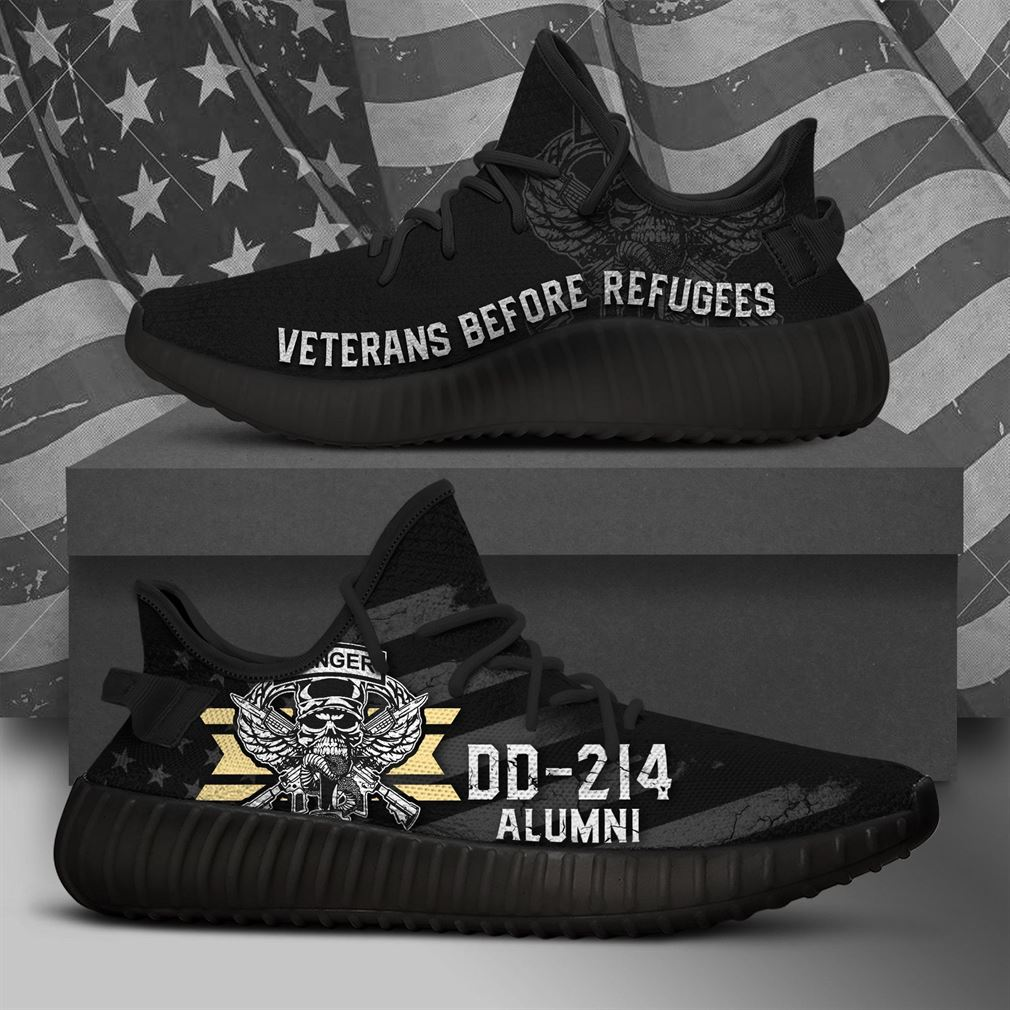 United States Us Army Ranger Black Runing Yeezy Sneakers Shoes
