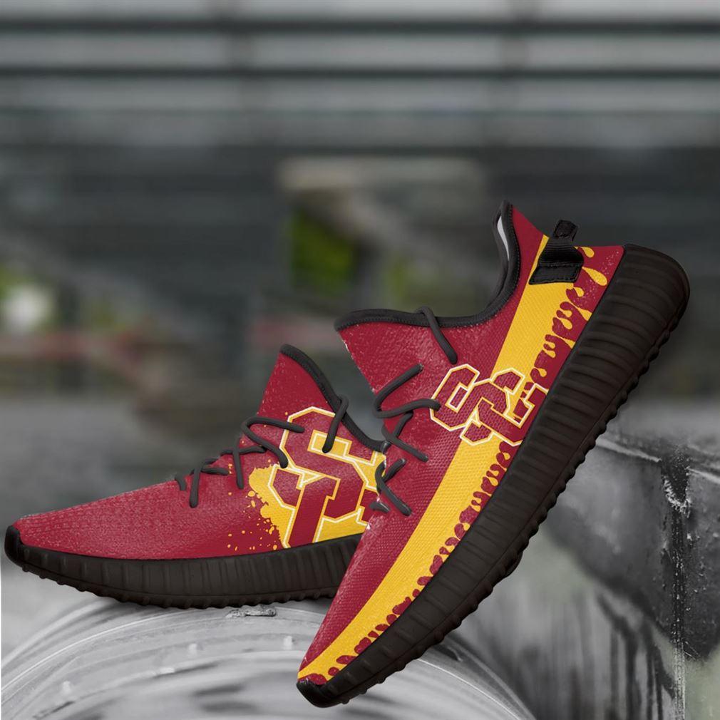 Usc Trojans Ncaa Yeezy Sneakers Shoes