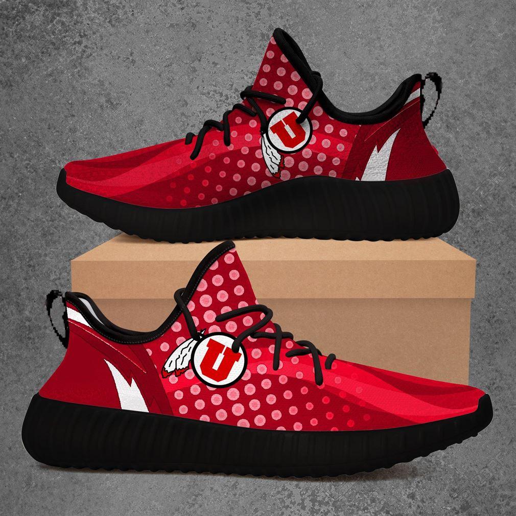 Utah Utes Ncaa Sport Teams Yeezy Sneakers Shoes