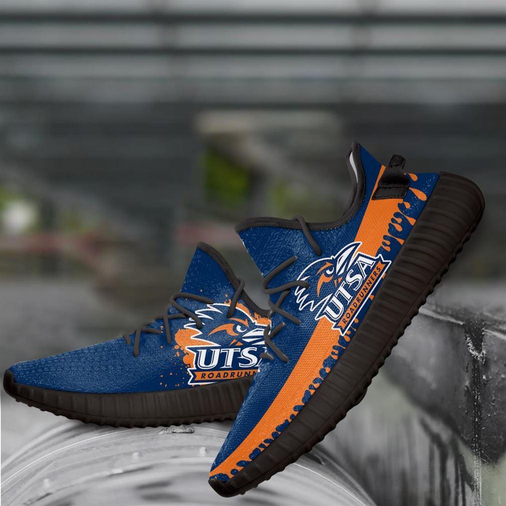 Utsa Roadrunners Ncaa Yeezy Sneakers Shoes