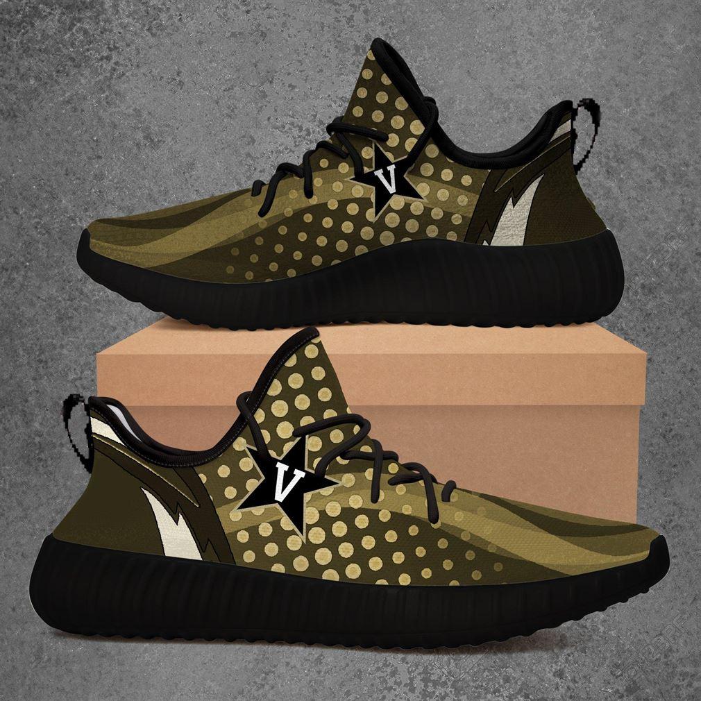 Vanderbilt Commodores Ncaa Sport Teams Yeezy Sneakers Shoes