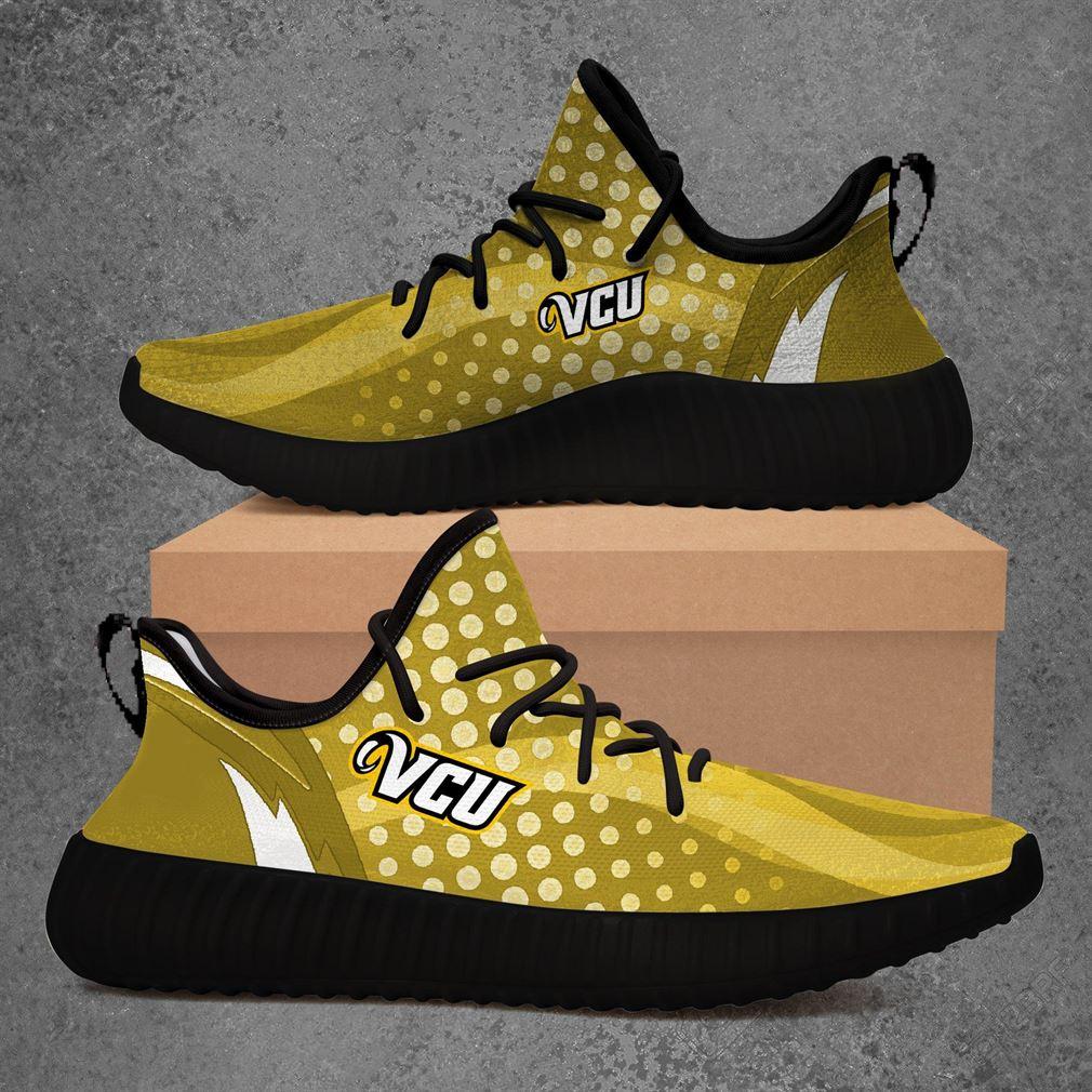 Vcu Rams Ncaa Sport Teams Yeezy Sneakers Shoes
