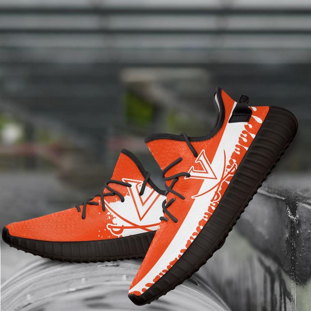Virginia Cavaliers Ncaa Yeezy Sneakers Shoes