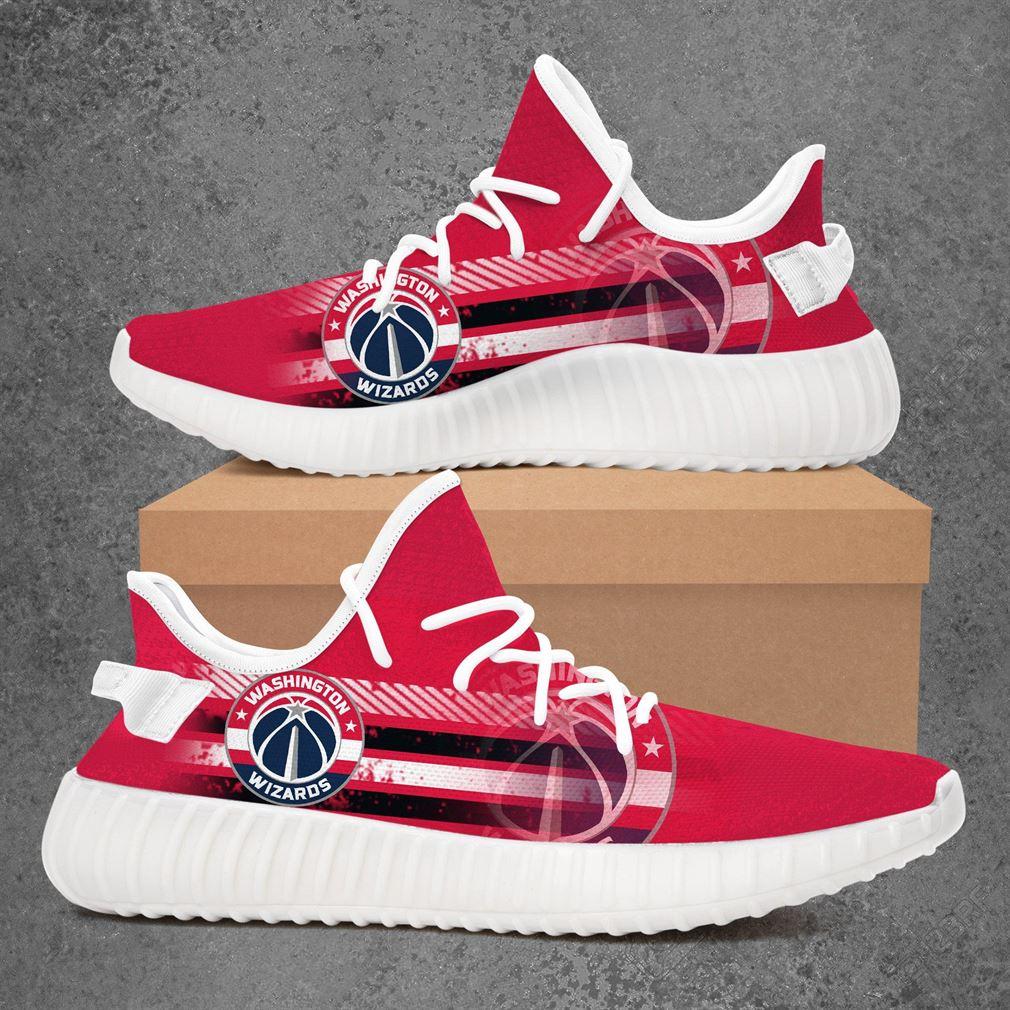 Washington Wizards Nba Basketball Yeezy Sneakers Shoes