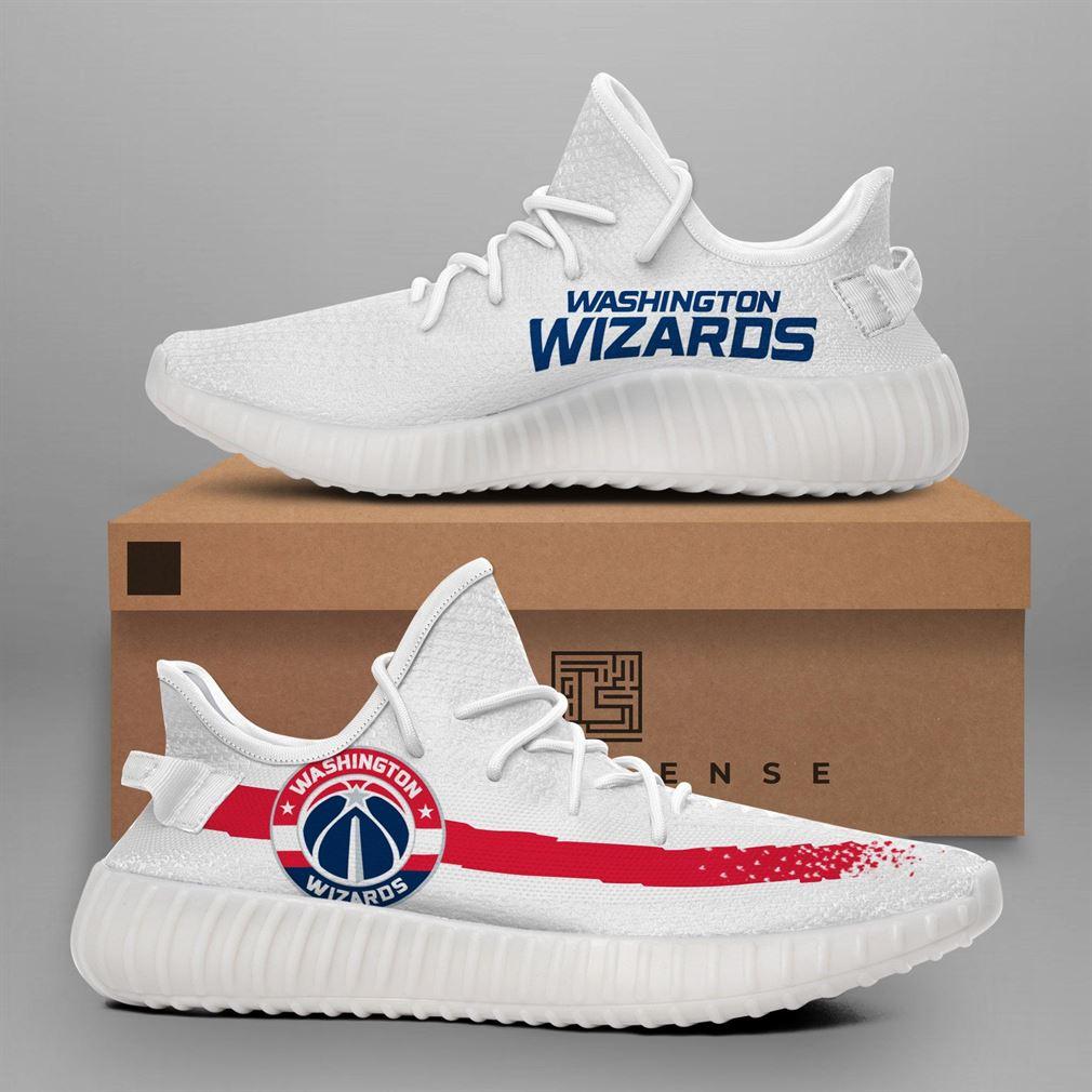 Washington Wizards Nba Teams Runing Yeezy Sneakers Shoes
